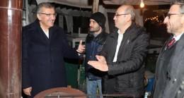 Başkan adayı Aydın, Anadolu Hisarı'nda esnafları ziyaret etti