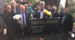 CHP Beykoz Mahmut Yavuz'u Kabri Başında Andı