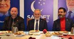 Saadet Partisi İBB Başkan Adayı Necdet Gökçınar basınla buluştu