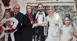 Asım Özdemir'in oğlu evlendi