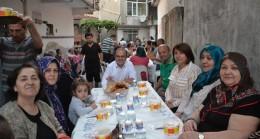 Çiğdemliler Komşu Komşuya iftar yaptılar
