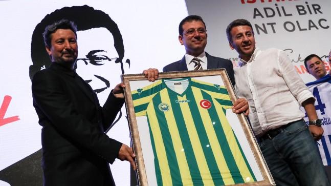 İmamoğlu: ' Amatör kulüpleri destekleyeceğiz'