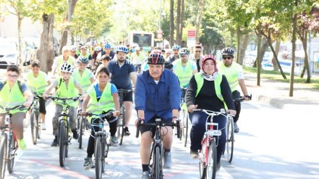 Beykoz'da Bisiklet Turları Devam Ediyor