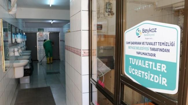 Beykoz'da Cami Tuvaletleri Işıl Işıl