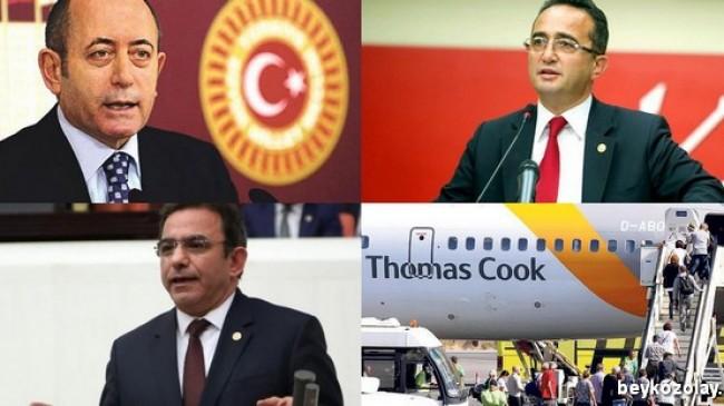 CHP Milletvekillerinin Thomas Cook raporu