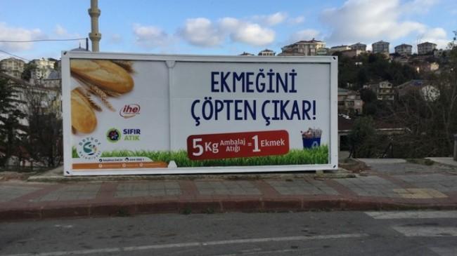 """Sıfır Atık İçin """"Ekmeğini Çöpten Çıkar"""" Projesi Beykoz'da"""