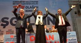 CHP Beykoz'da Aydın Düzgün yeniden ilçe başkanı seçildi