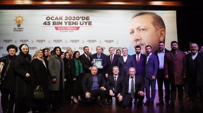 Cumhurbaşkanı Erdoğan'dan Beykoz'a 2. Ödül