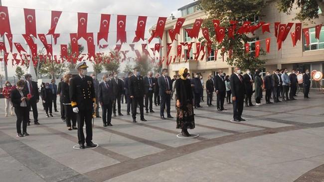 Beykoz'da 29 Ekim Cumhuriyet Bayramı Tedbirlerle Kutlandı