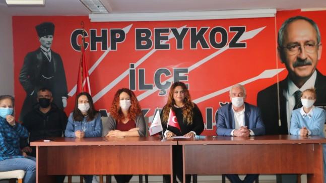CHP Beykoz Kadın Kolları Başkanı Uzuner ''Kadına Şiddet Politiktir''