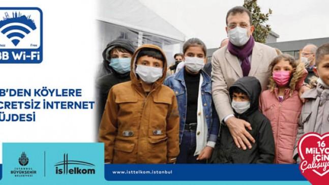 İBB'den Beykoz köylerine ücretsiz internet