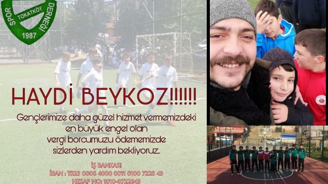 Tokatköyspor Kulübü Kampanya Başlattı