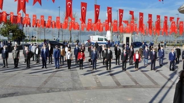 23 Nisan Ulusal Egemenlik ve Çocuk Bayramının 101. Yılı Kutlandı