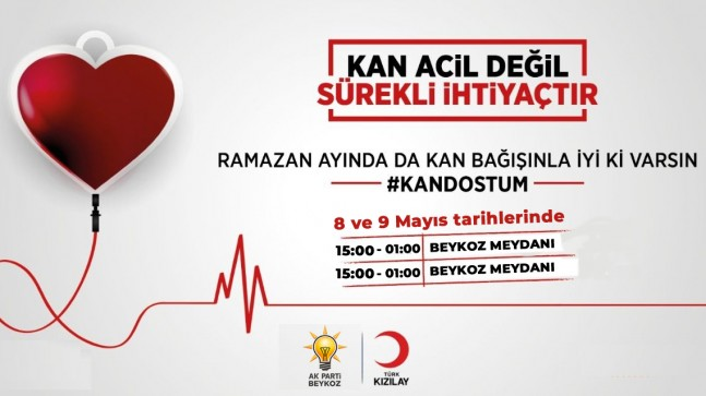 Haydi Beykoz! Kan bağışı kampanyamızda buluşalım