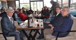 Vatan Partisi Beykoz İl Başkanı Cem Dikmen'i ağırladı