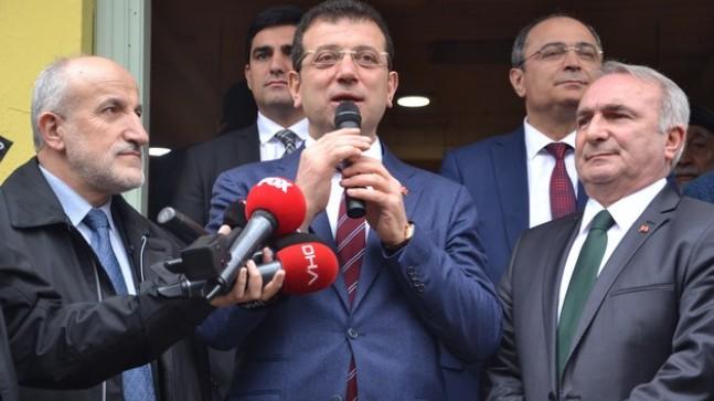 İmamoğlu: 'Biz İstanbul'u tümüyle ele almak için yola çıktık'