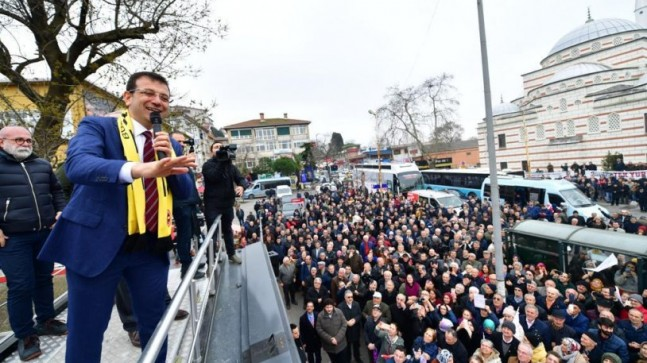 Ekrem İmamoğlu Paşabahçe'de Vatandaşa Seslendi