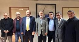 Dernekler Birliği Heyeti Süleyman Erdoğdu'ya ziyarette bulundu