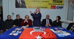 YENİMAHALLE'DE COŞKUN TOSUN İZDİHAMI: BİZİ BEYKOZ'DAN KOVMAK İSTİYORLAR
