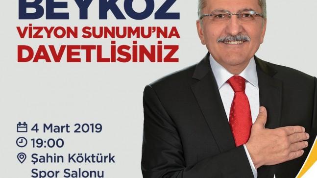 Hayali kurulan bir Beykoz için Başkan Aydın'dan davet