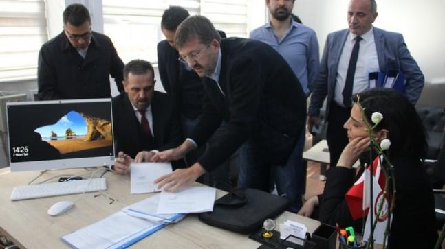 AK Parti Beykoz'da seçim sonuçlarına resmi itirazını yaptı