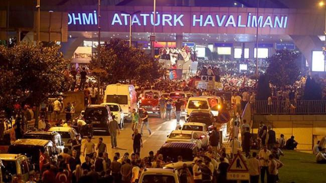 15 Temmuz'da Atatürk Havalimanı'nda anma töreni