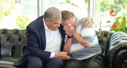 İbo'yla Başkan Aydın Beykoz'da Kucaklaştı