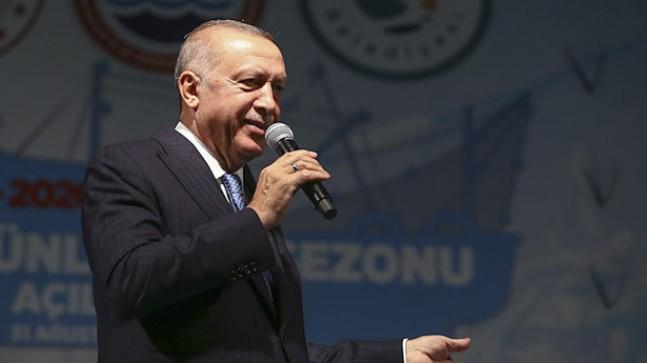 Cumhurbaşkanı Erdoğan, Beykoz'dan 'Vira Bismillah' dedi