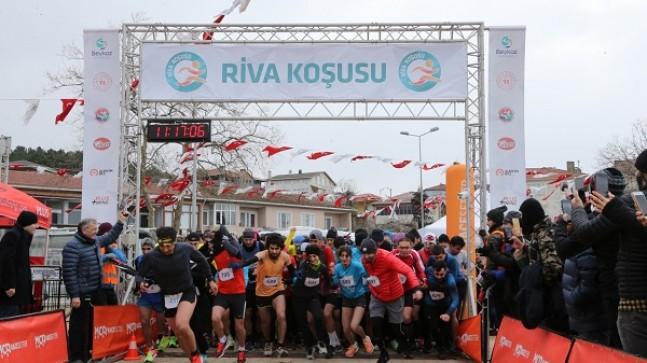 Türkiye'nin En Güzel Manzaralı Koşusu Riva'da Sporseverleri Buluşturdu