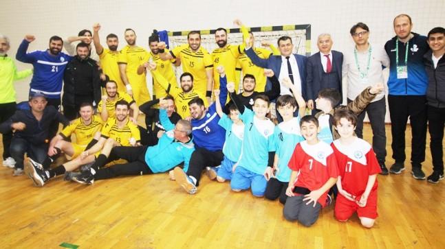 Beykoz Belediyespor Türkiye Kupasında Yarı Finalde