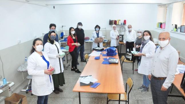 Beykoz Halk Eğitimi Merkezi Koruyucu Maskelerin Dağıtımına Başladı