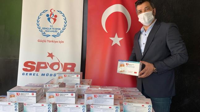 Beykoz Gençlik ve Spor İlçe Müdürlüğü Sporculara Maske Dağıtıyor