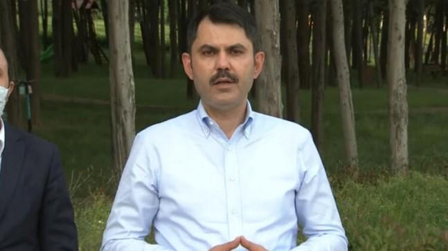 Bakan Kurum'dan İBB Başkanı İmamoğlu'na 'Riva Deresi' yanıtı