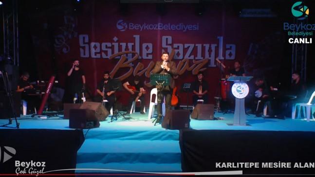 """BEYKOZ'DA """"SESİYLE SAZIYLA"""" MÜZİK ŞÖLENİ BAŞLADI"""