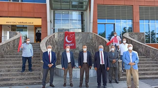 Saadet Partisi'nden Prof. Dr. Necmettin Erbakan Kültür Merkezi binası ilgili basın açıklaması