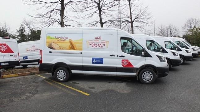 İBB'den Beykoz'a Mobil Halk Ekmek Büfesi