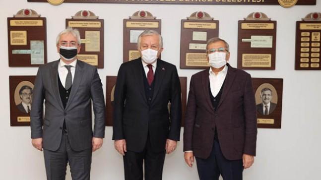 TBMM Başkanvekili Celal Adan, Başkan Murat Aydın'ı ziyaret etti