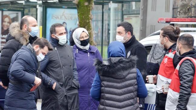 Beykoz AK Parti'den Güvenlik Güçlerine Yemek İkramı
