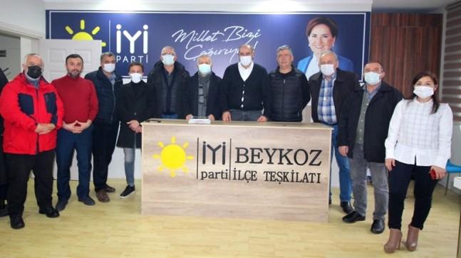 BİSK, İYİ Parti Beykoz İlçe Teşkilatını Ziyaret Etti
