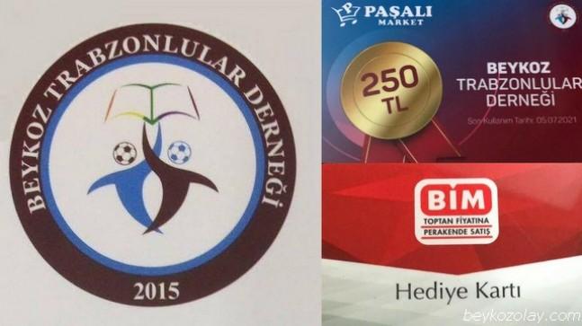 Beykozlu Trabzonlulardan 40 bin TL'lik Yardım