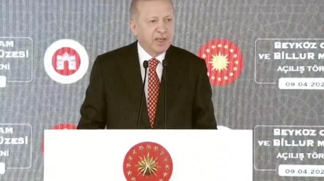 Cumhurbaşkanı Erdoğan Beykoz'da Cam Müzesi Açılışını Yaptı