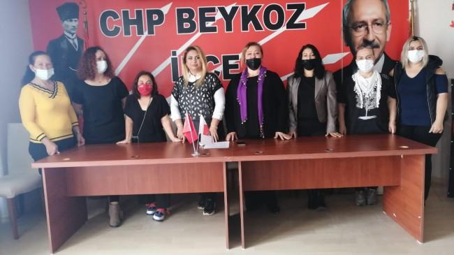 """CHP Beykoz Kadın Kolları """"İstanbul Sözleşmesi'nden Vazgeçmiyoruz"""""""