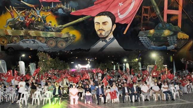 """15 Temmuz Beykoz'da """"Türkiye Geçilmez"""" temasıyla anıldı"""
