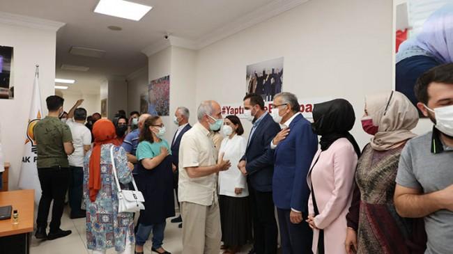 AK Parti Beykoz İlçe Başkanlığı Teşkilatıyla Bayramlaştı