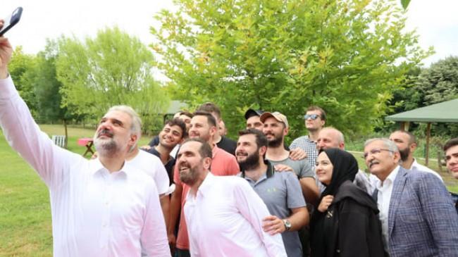 İl Başkanı Kabaktepe'den Beykoz teşkilatına sürpriz ziyaret