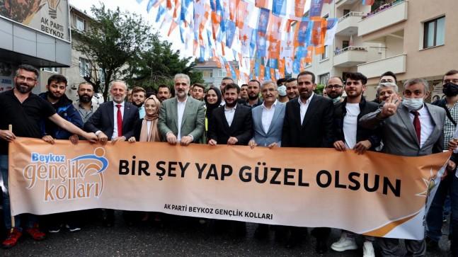 AK Parti İstanbul İl Başkanı Osman Nuri Kabaktepe, Beykoz'u ziyaret etti