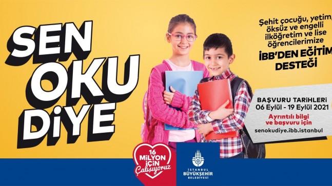 İBB'den eğitim desteği!