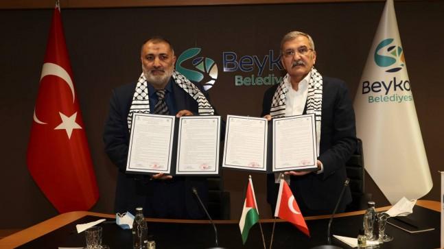 Beykoz'a Filistin'den Kardeş Geldi