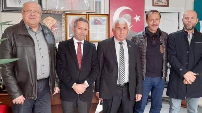 Deva Partisi Beykoz'da muhtarları ziyaret etti